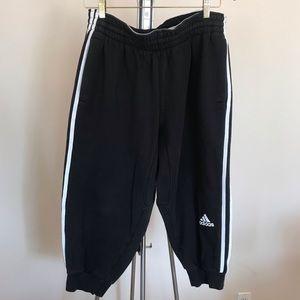 Adidas Mens cropped Sweat Pants Large